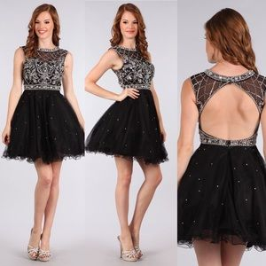 My Fashion 1633 Black Small Dress